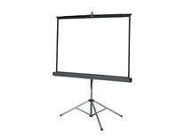 DA-LITE 84″ Tripod Front Projection Screen (can be general public rental)
